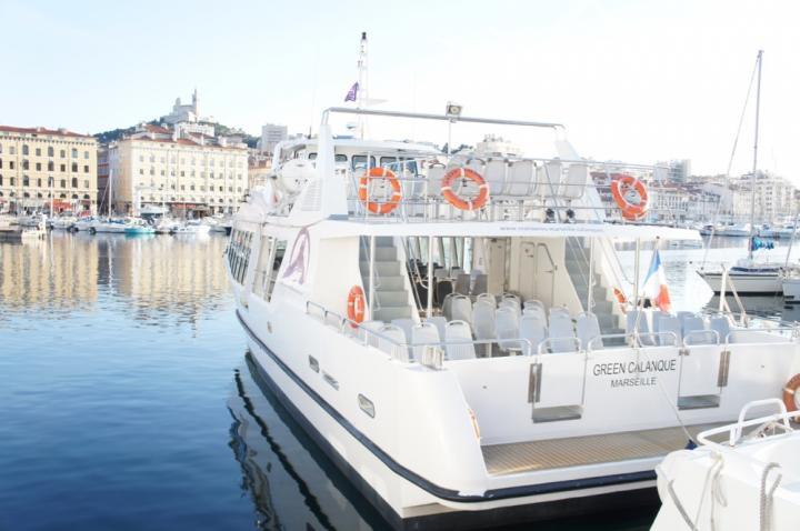 Croisières Marseille Calanques à Marseille, événement à bord