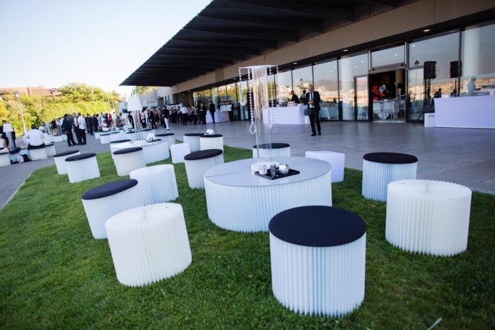Location mobilier Lounge événement soirée séminaire
