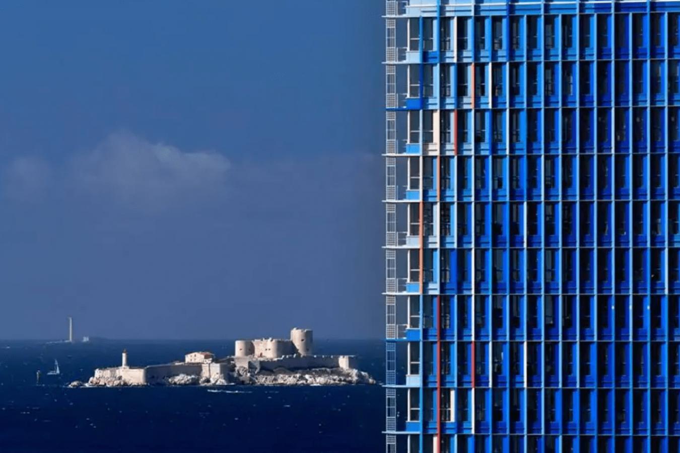 Sky Center, du WTC, un événement vue panoramique sur Marseille