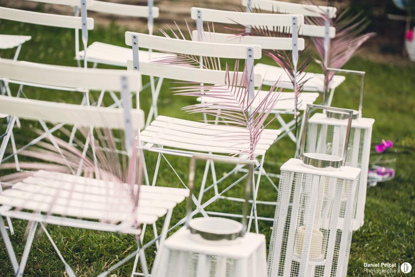 Location de chaises blanches, événements professionnels