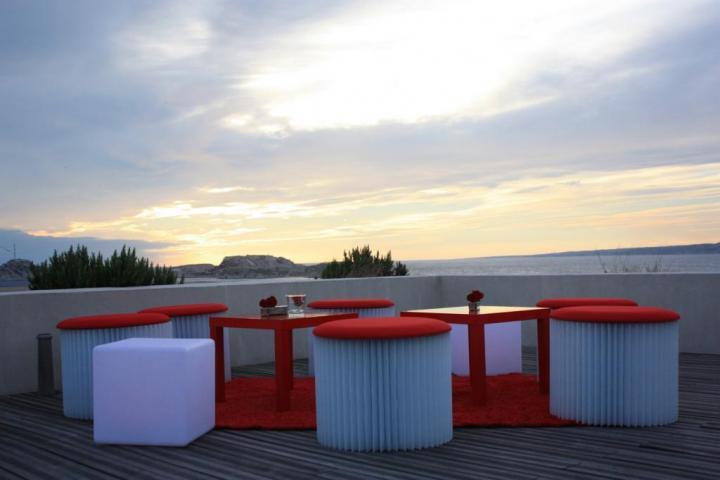 Cocktail vue mer, Villa Clifbird