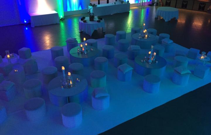 Soirée blanche, soirée de gala au Pavillon de Frégate en Provence