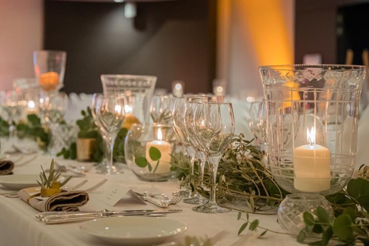 Décoration de table et événements professionnels
