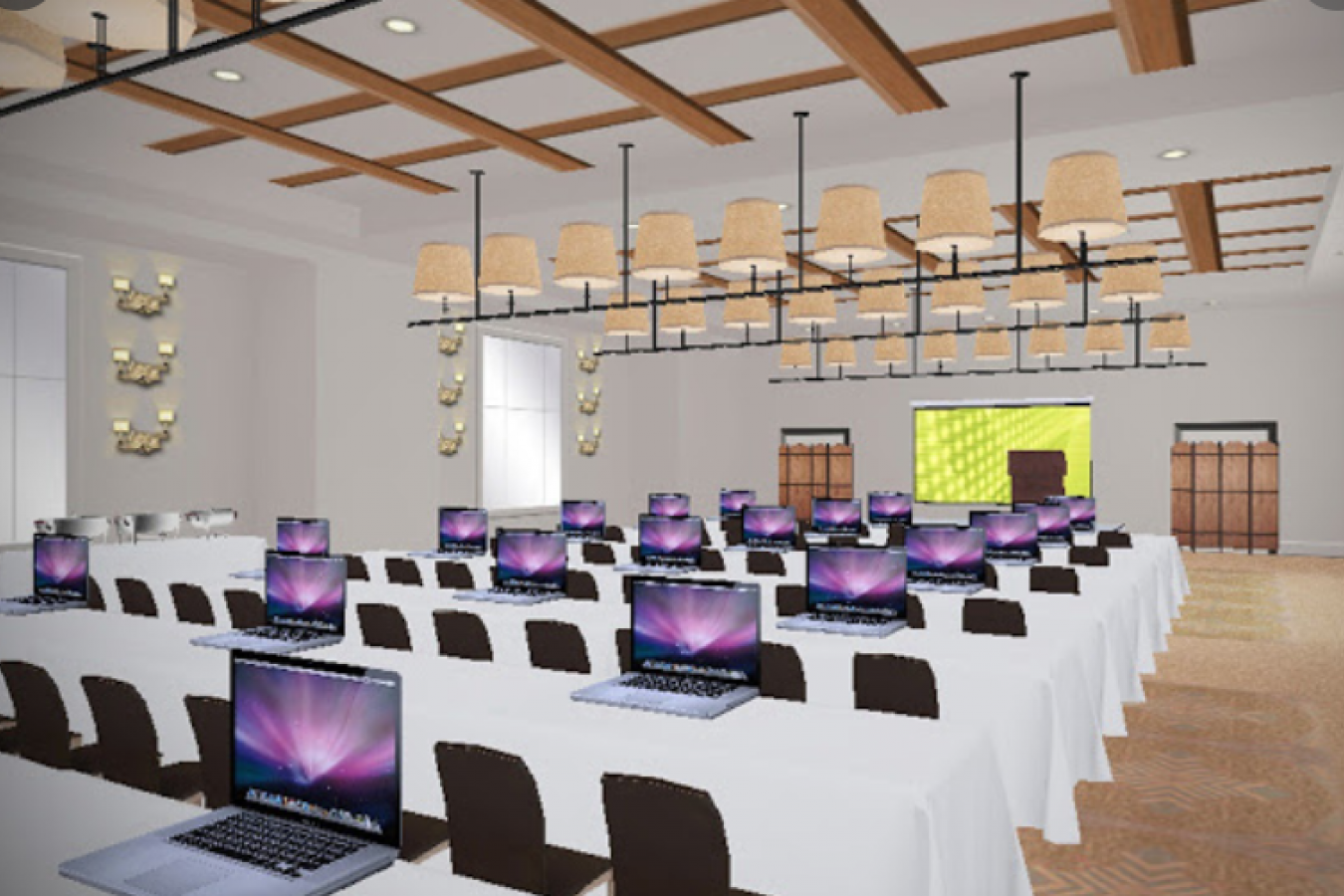 Plans d'implantation en 2D et 3D de salles, lieux événementiels