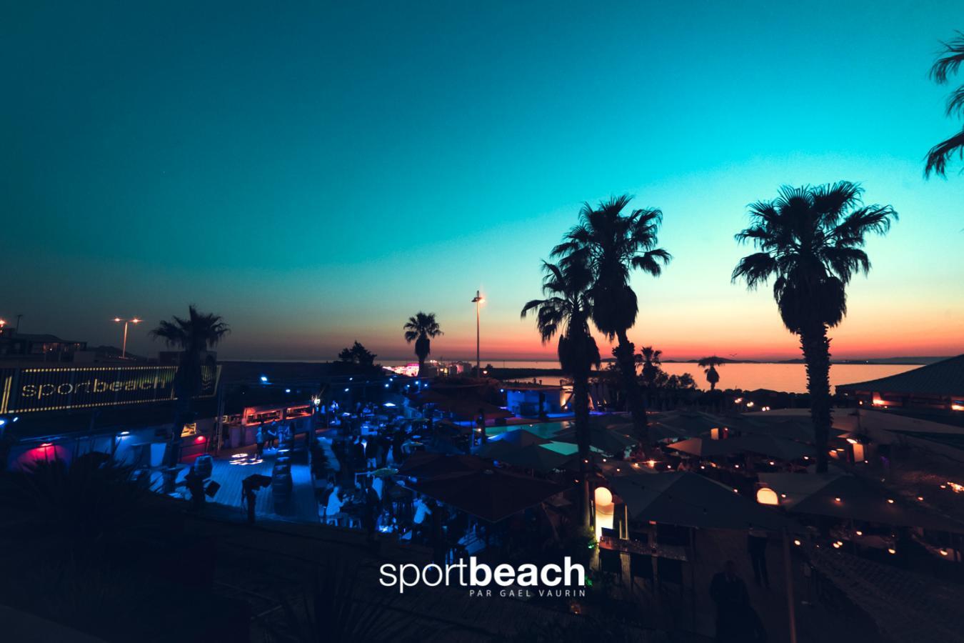 Sport Beach, ambiance chic et mer