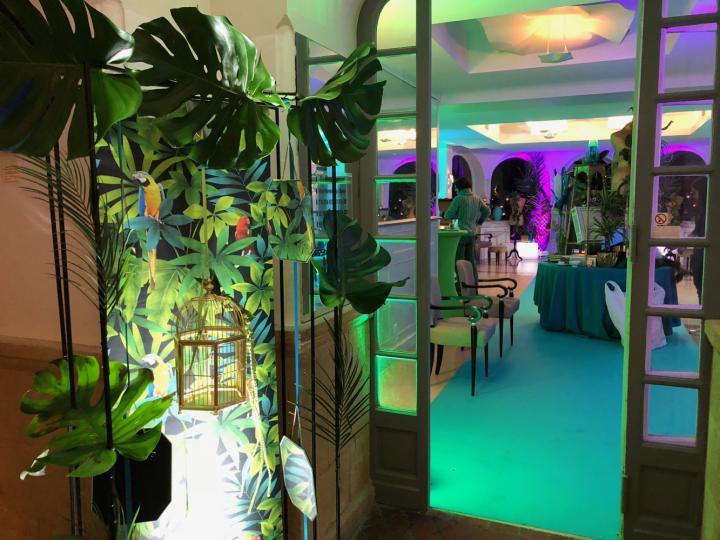 Le Bal Masqué de l'hotel PIGONNET, une belle décoration soirée à thème Aix en Provence