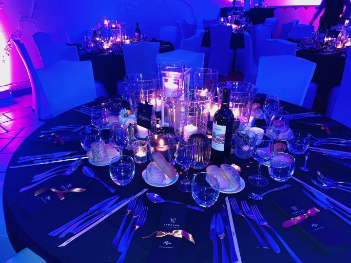 Soirée de gala, diners de gala, événements professionnels